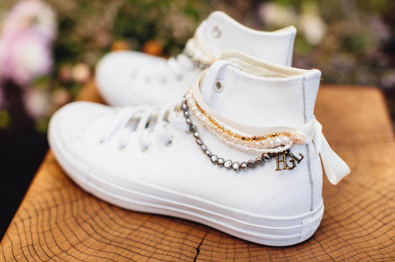converse bridal shoes