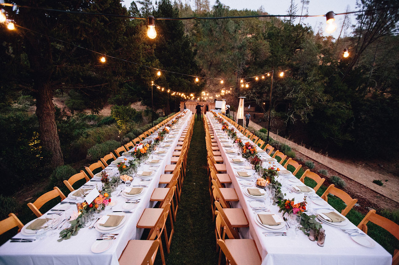 Romantic Calistoga Wedding