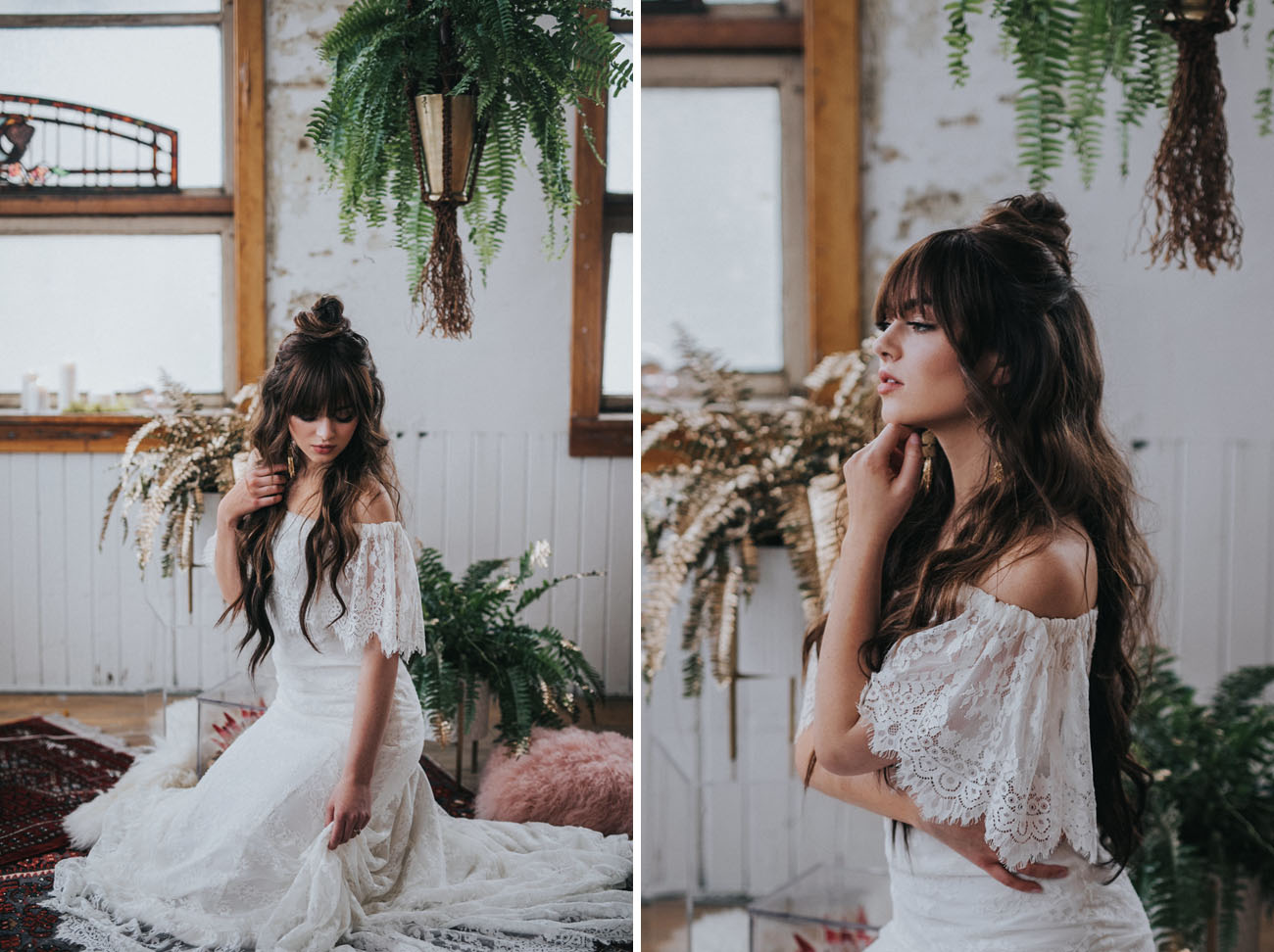 Enchanting Moroccan Elopement in Charming Loft