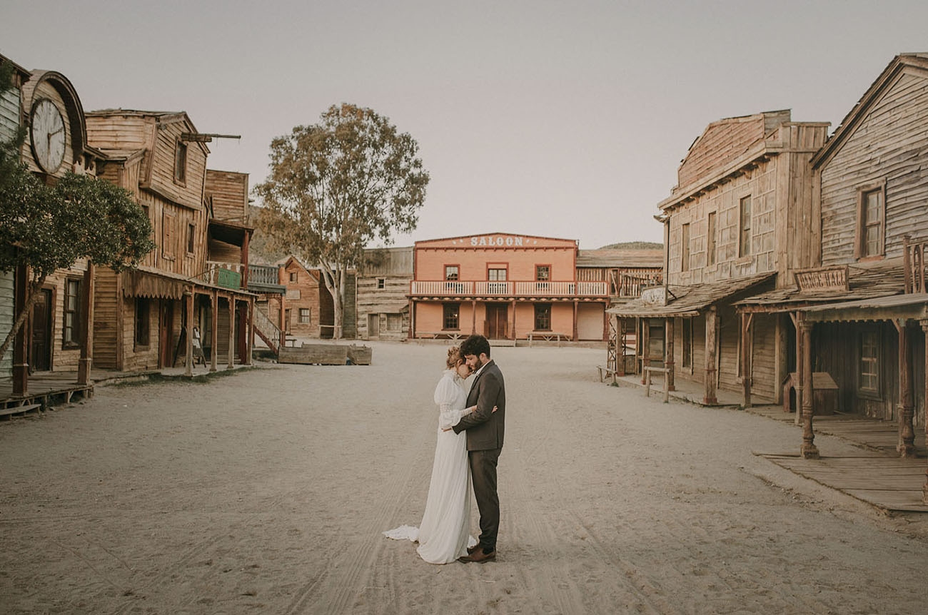 A Step Back in Time: Victorian Old West Wedding Inspiration