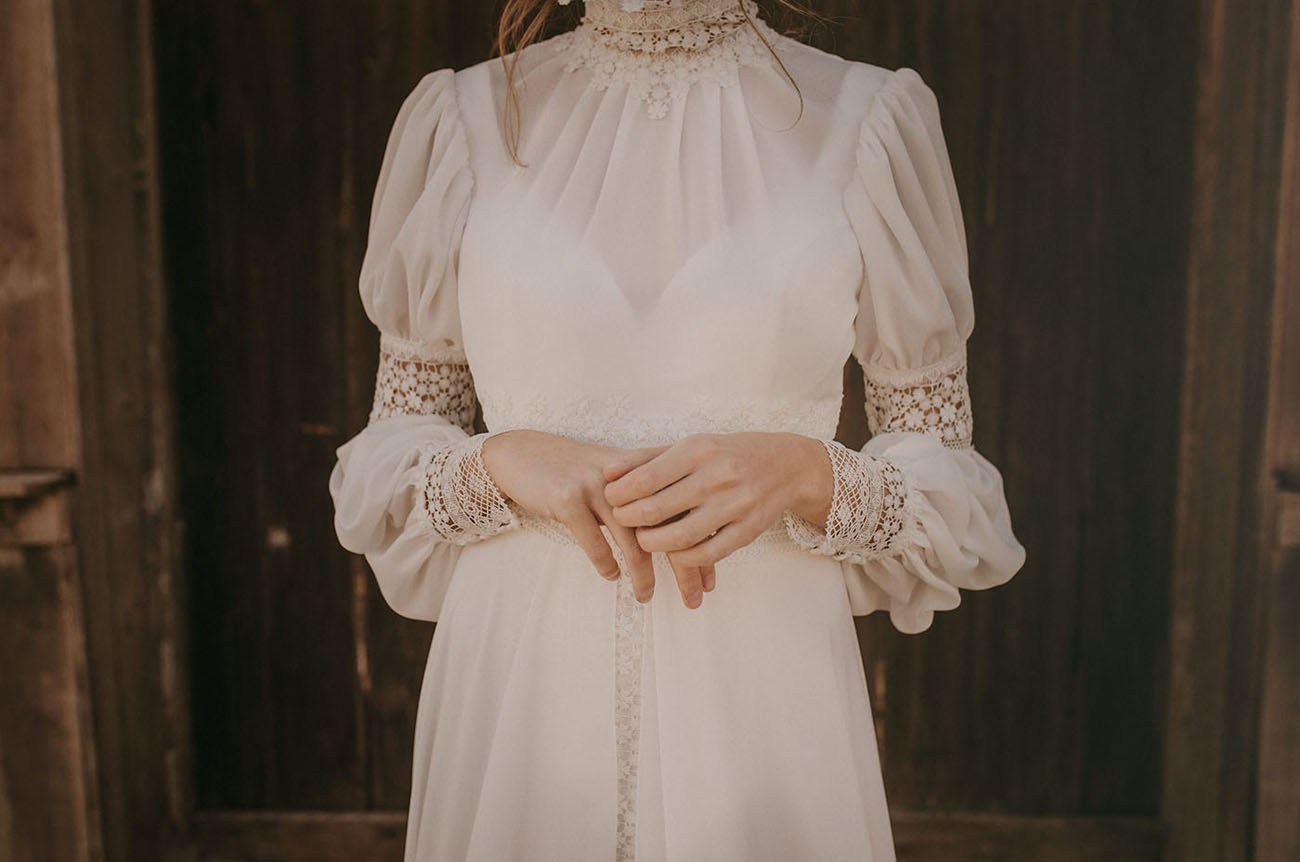 A step back in time victorian old west wedding for Old west wedding dresses