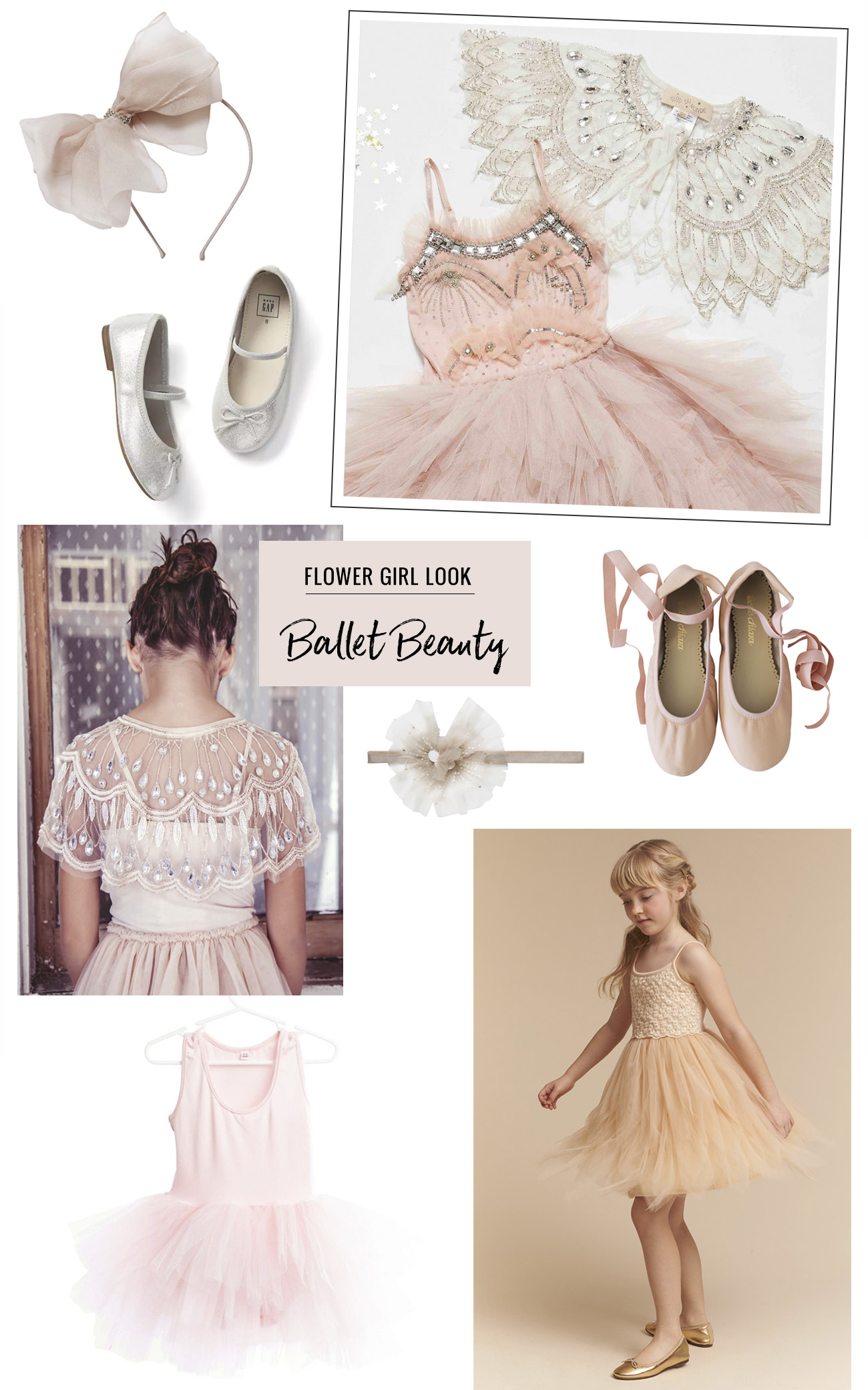 flower girl ballet beauty