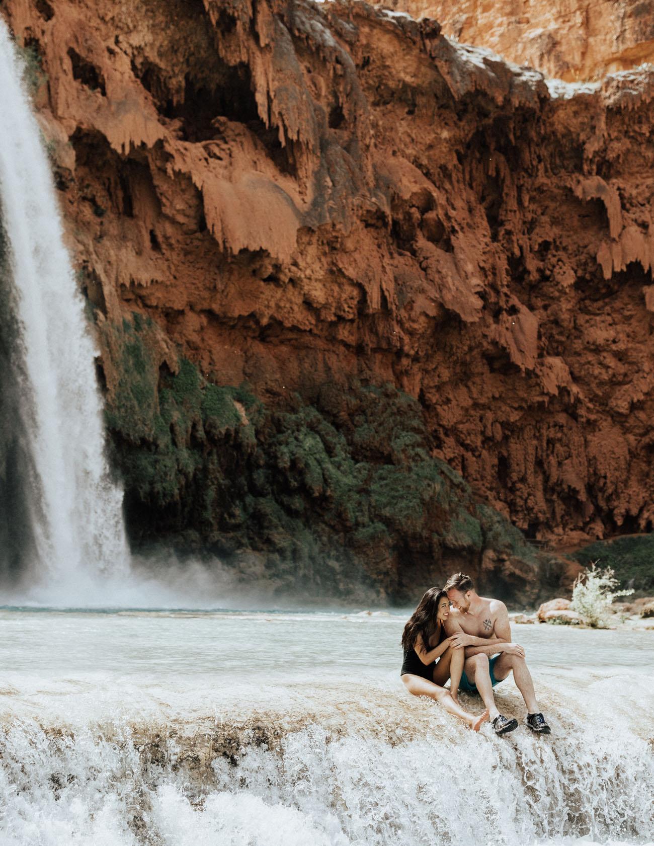 Havasu Falls Engagement