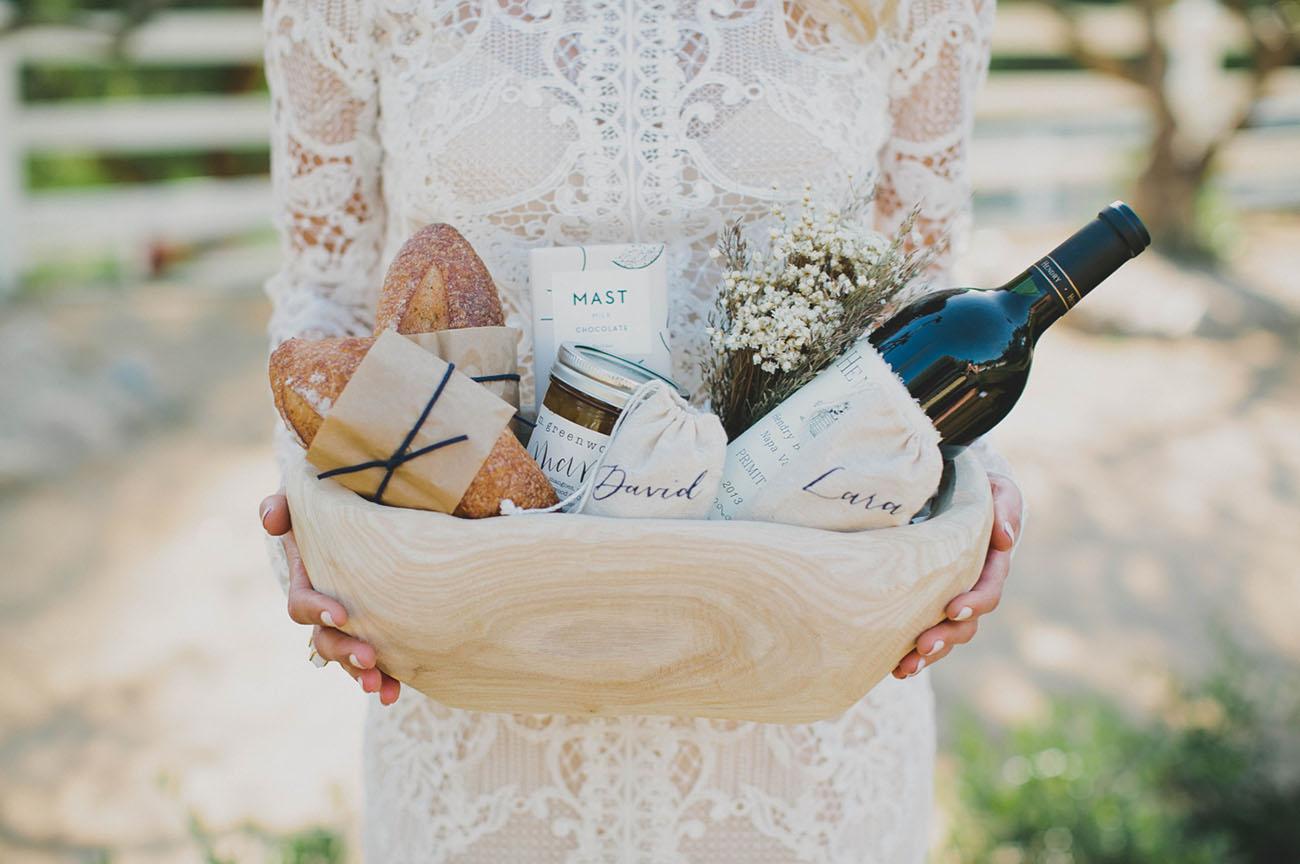rustic gift basket