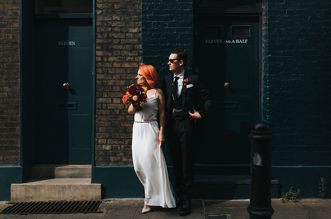 Rooftop London Wedding
