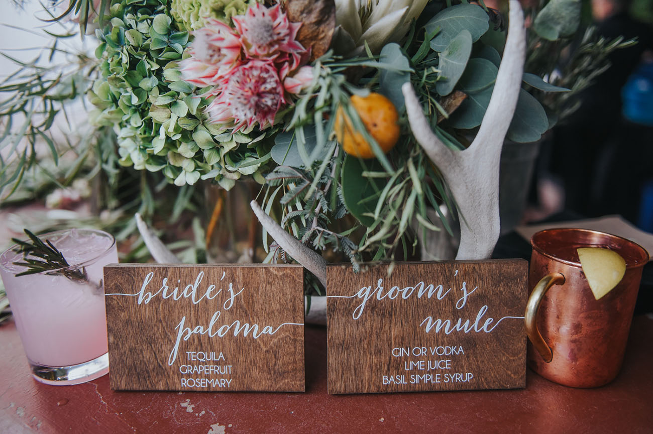 Hipster Palm Springs Wedding