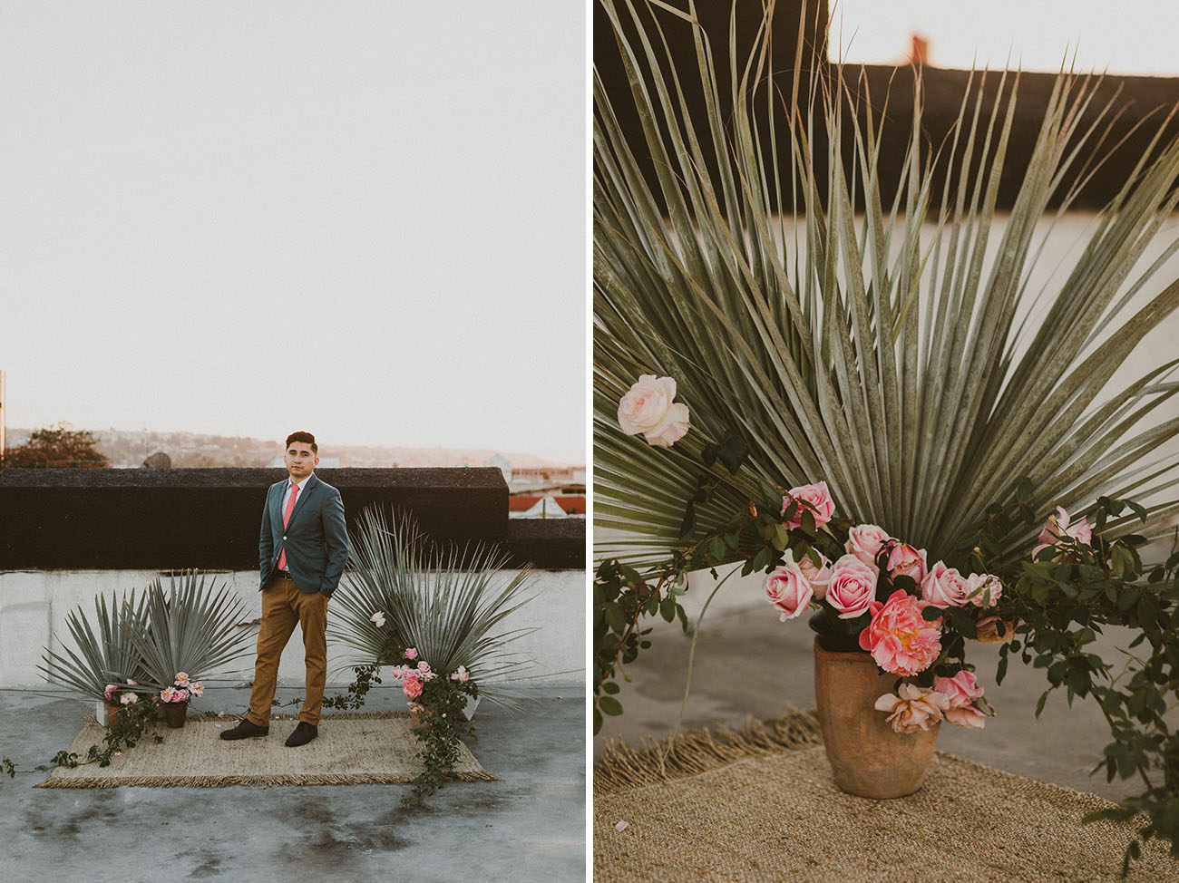 A Modern Elopement in Mexico Inspired by Luis Barragán's Bold + Bright Architecture