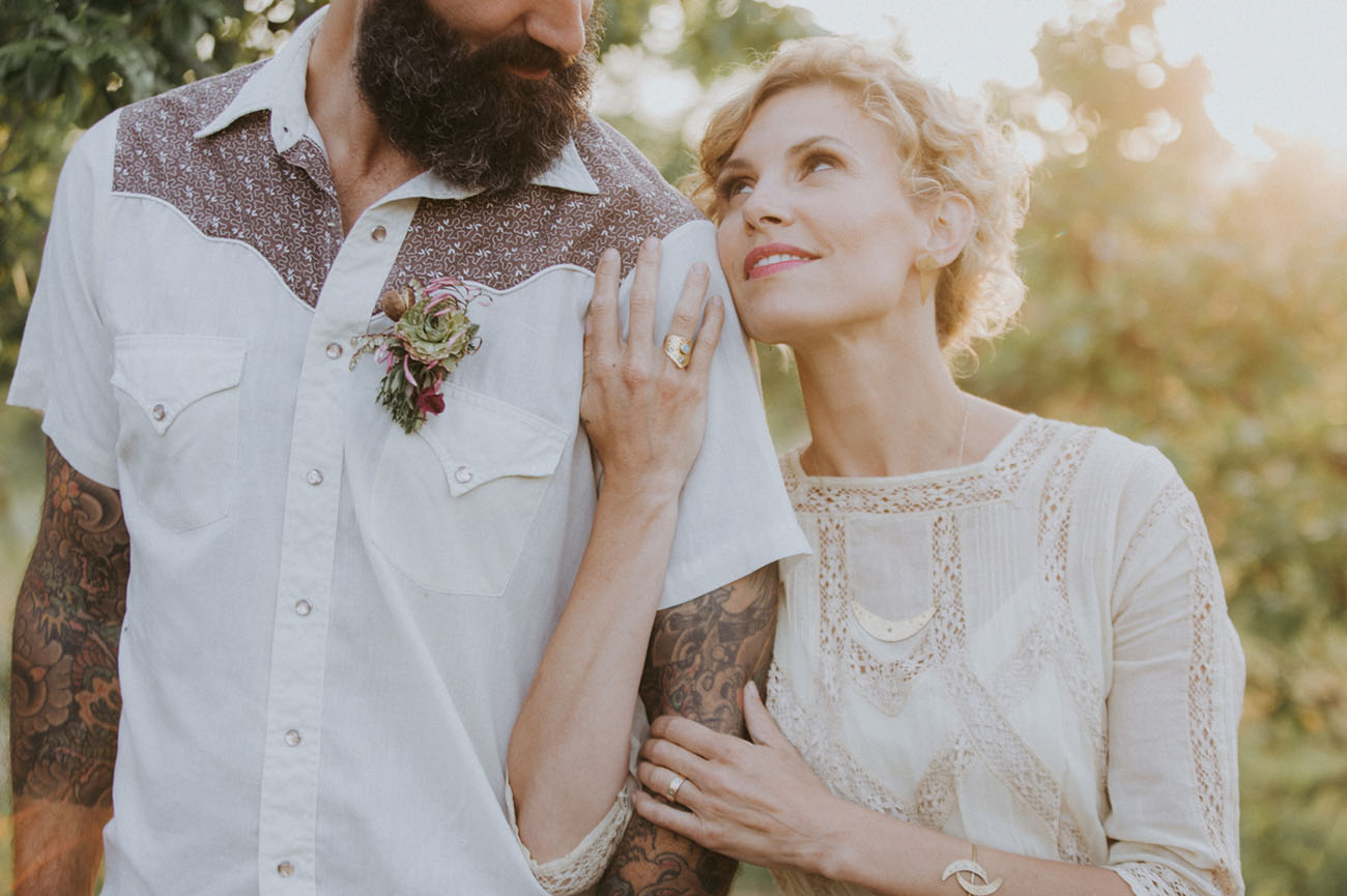 Modern Gypsy Vow Renewal Inspiration