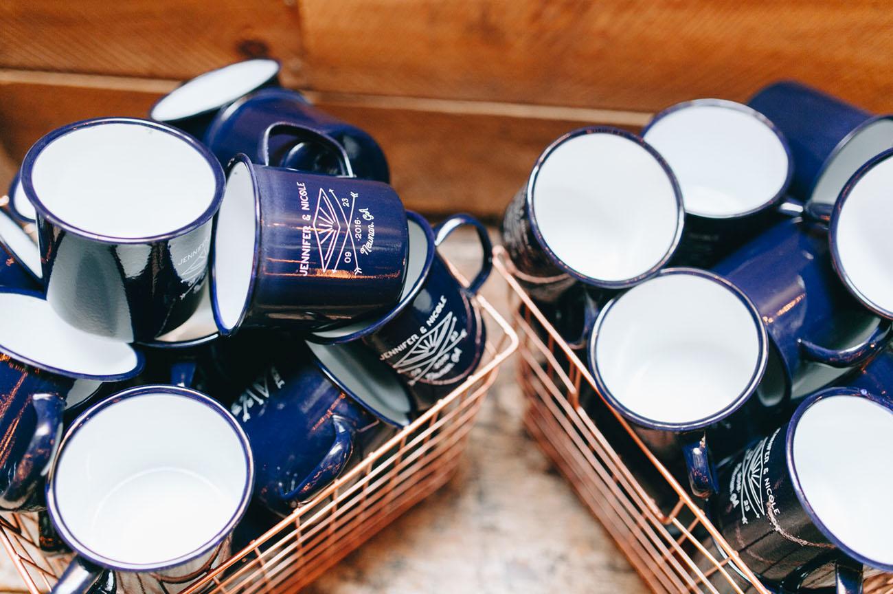 camp mug favors