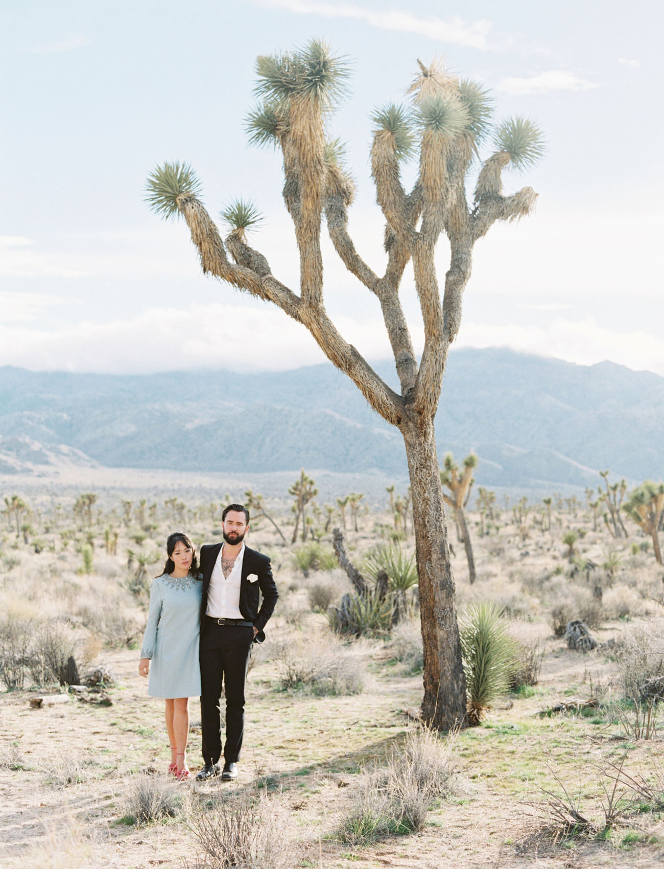 This Couple Rolled the Dice & Landed on a Joshua Tree Elopement!