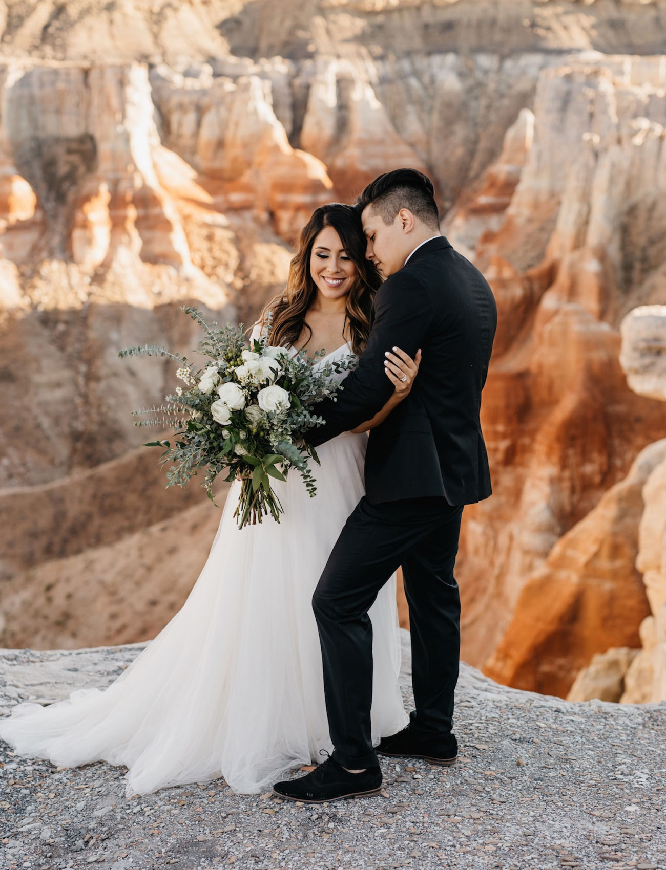 Secret Arizona Canyon Elopement