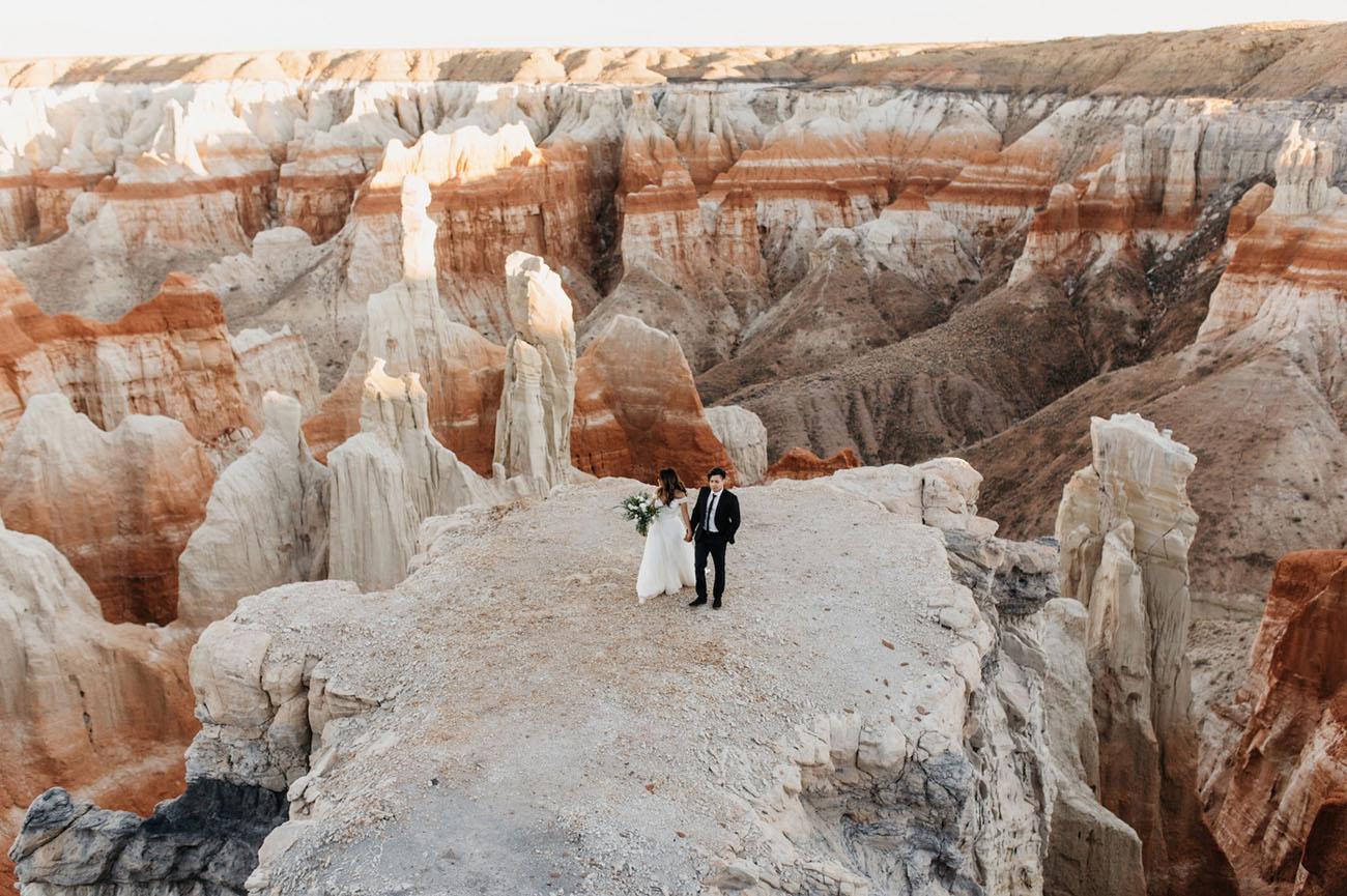Secret Arizona Canyon Elopement