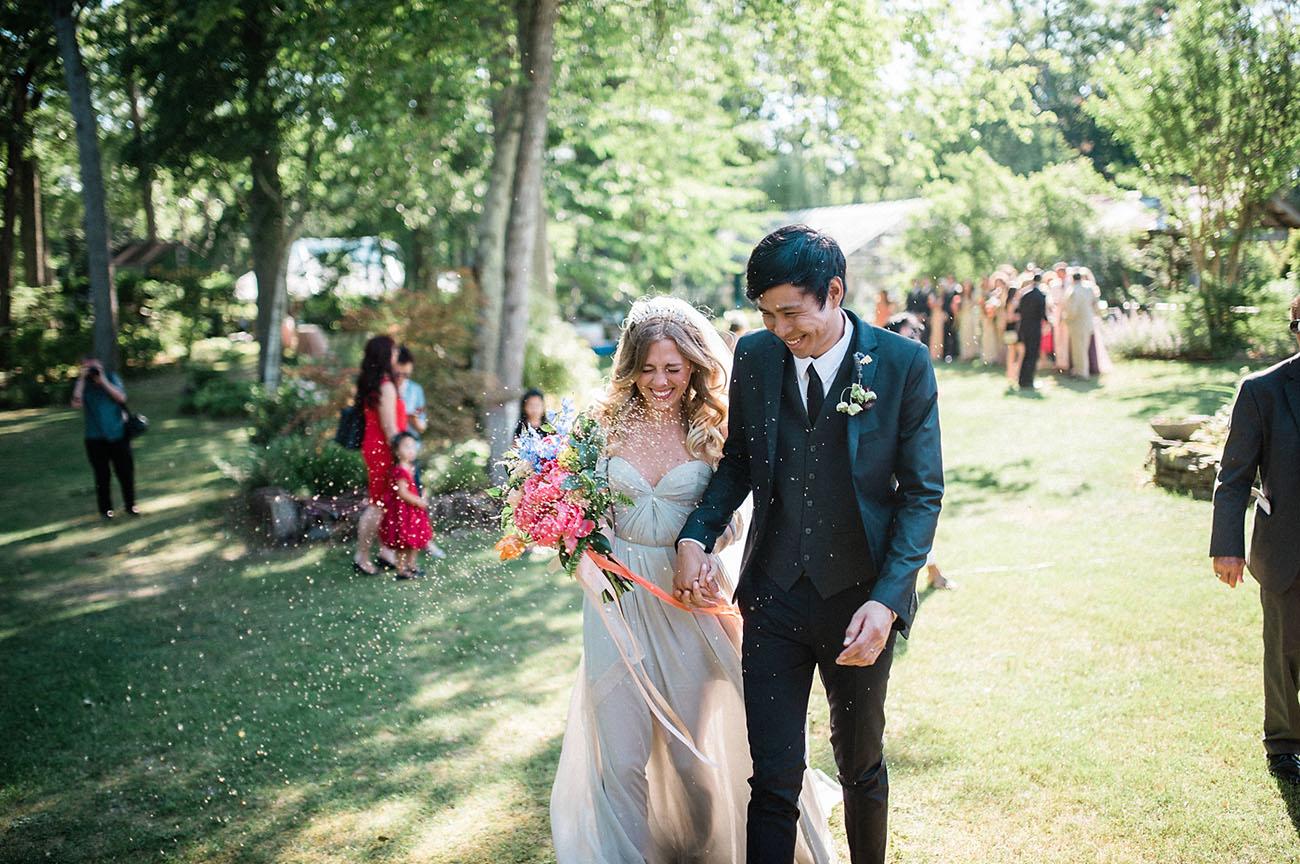 New York Herb Garden Wedding
