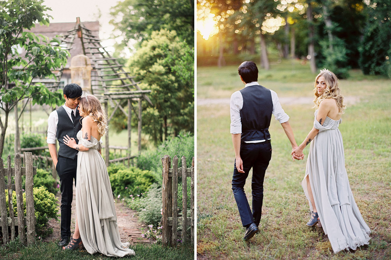 New York Herb Garden Wedding