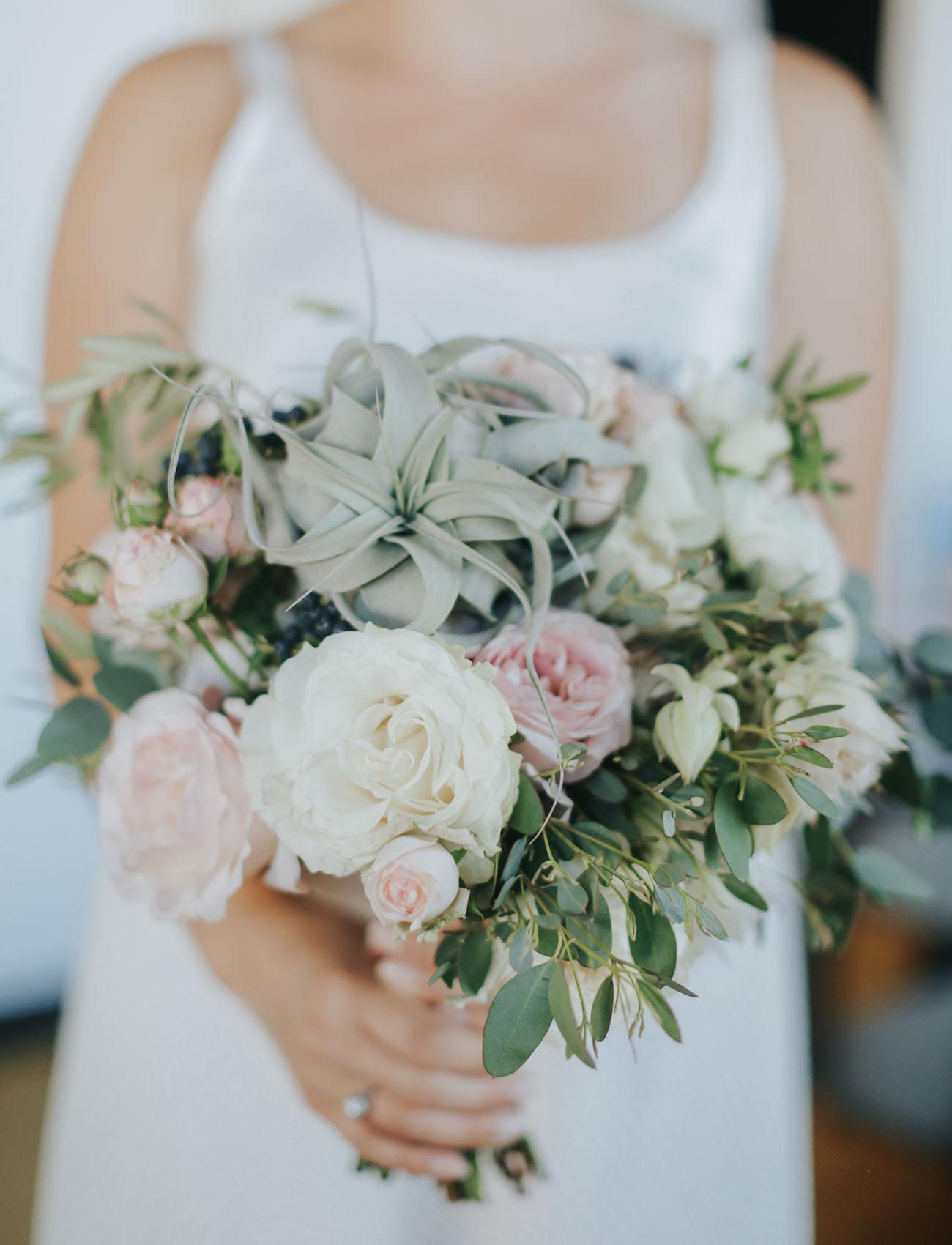 soft airplant bouquet