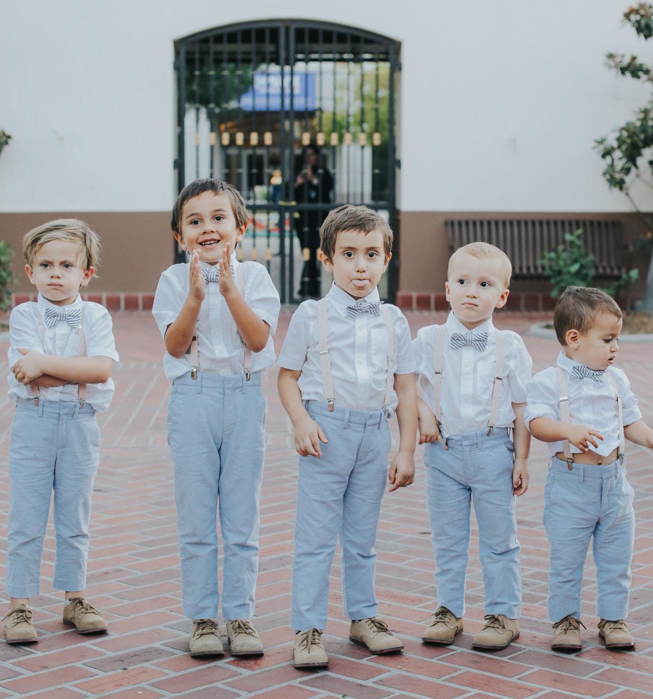 blue ring bearers