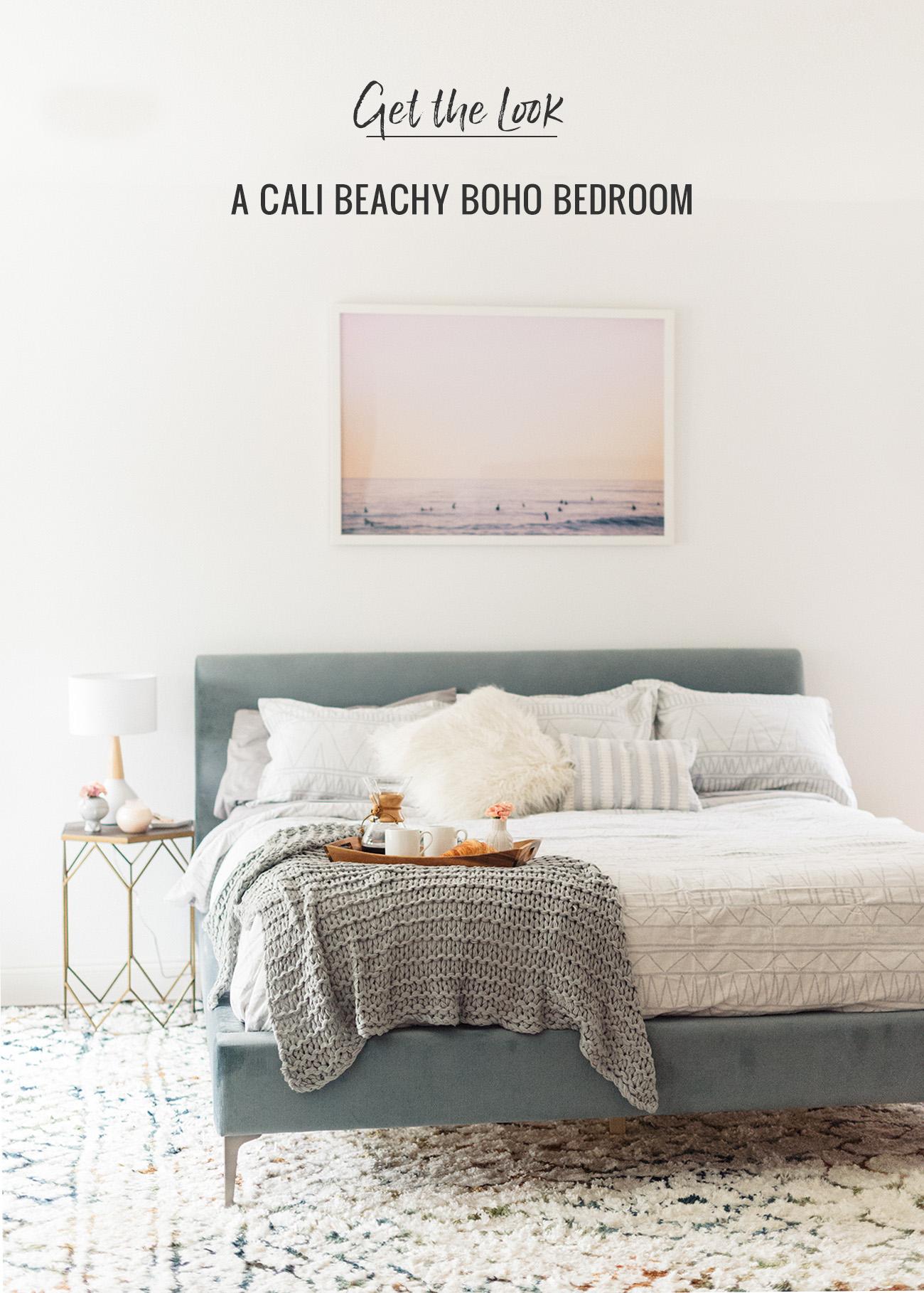 Get the Look Cali Beachy Boho Bedroom