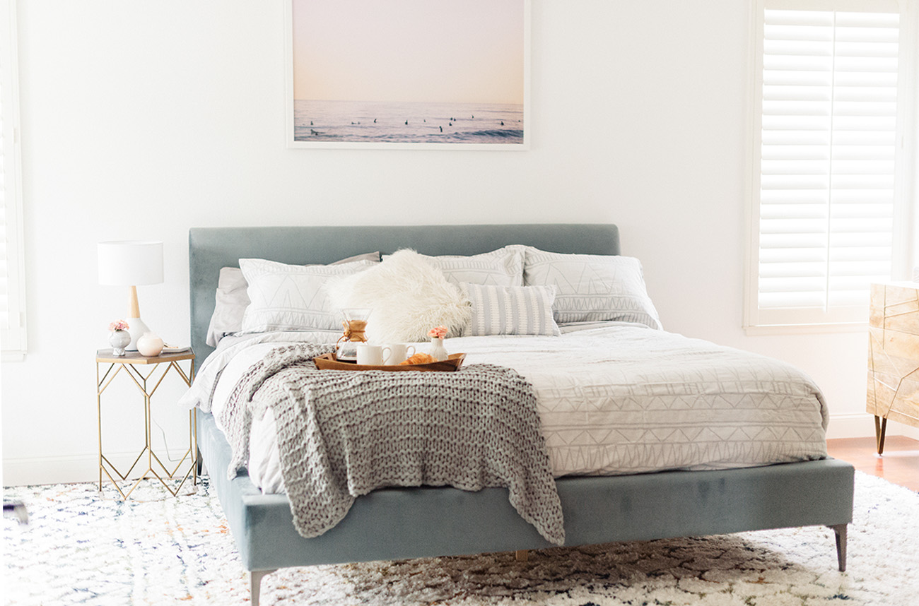 Get the Look: A Cali Beachy Boho Bedroom | Green Wedding Shoes