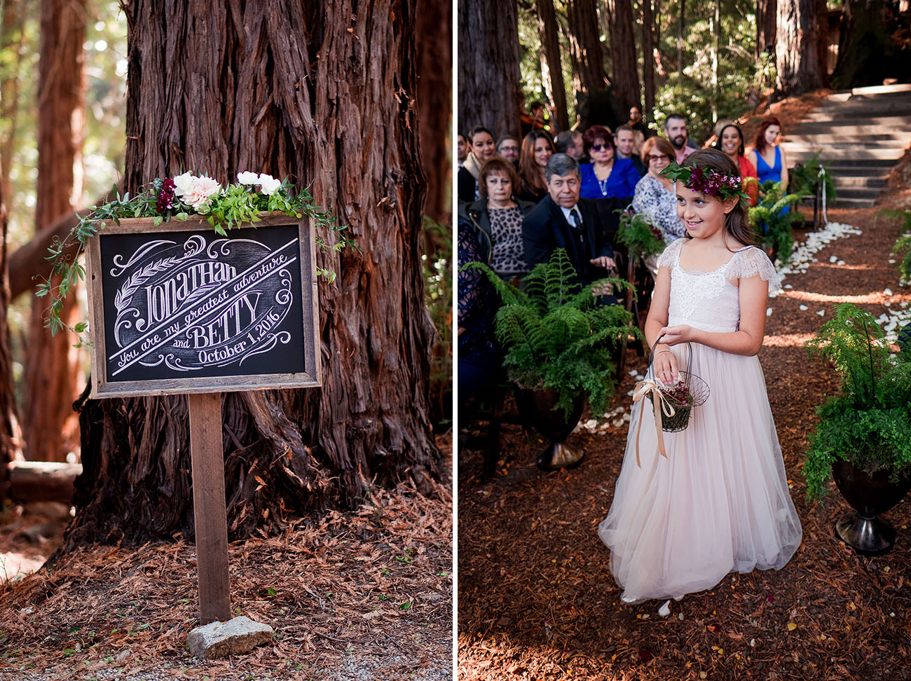 Magical Woodland Sequoia Wedding