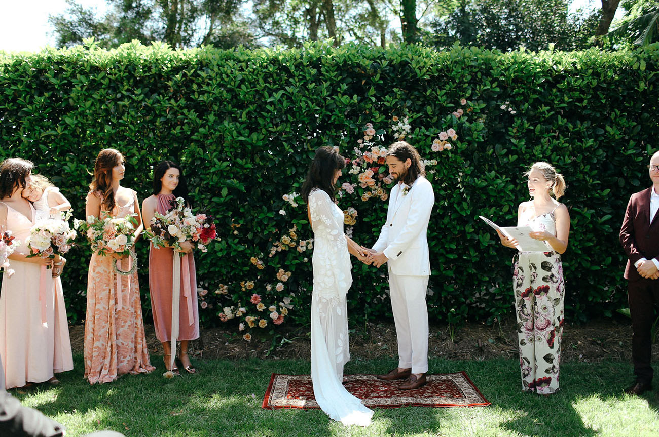 Boho 70s Australia Wedding