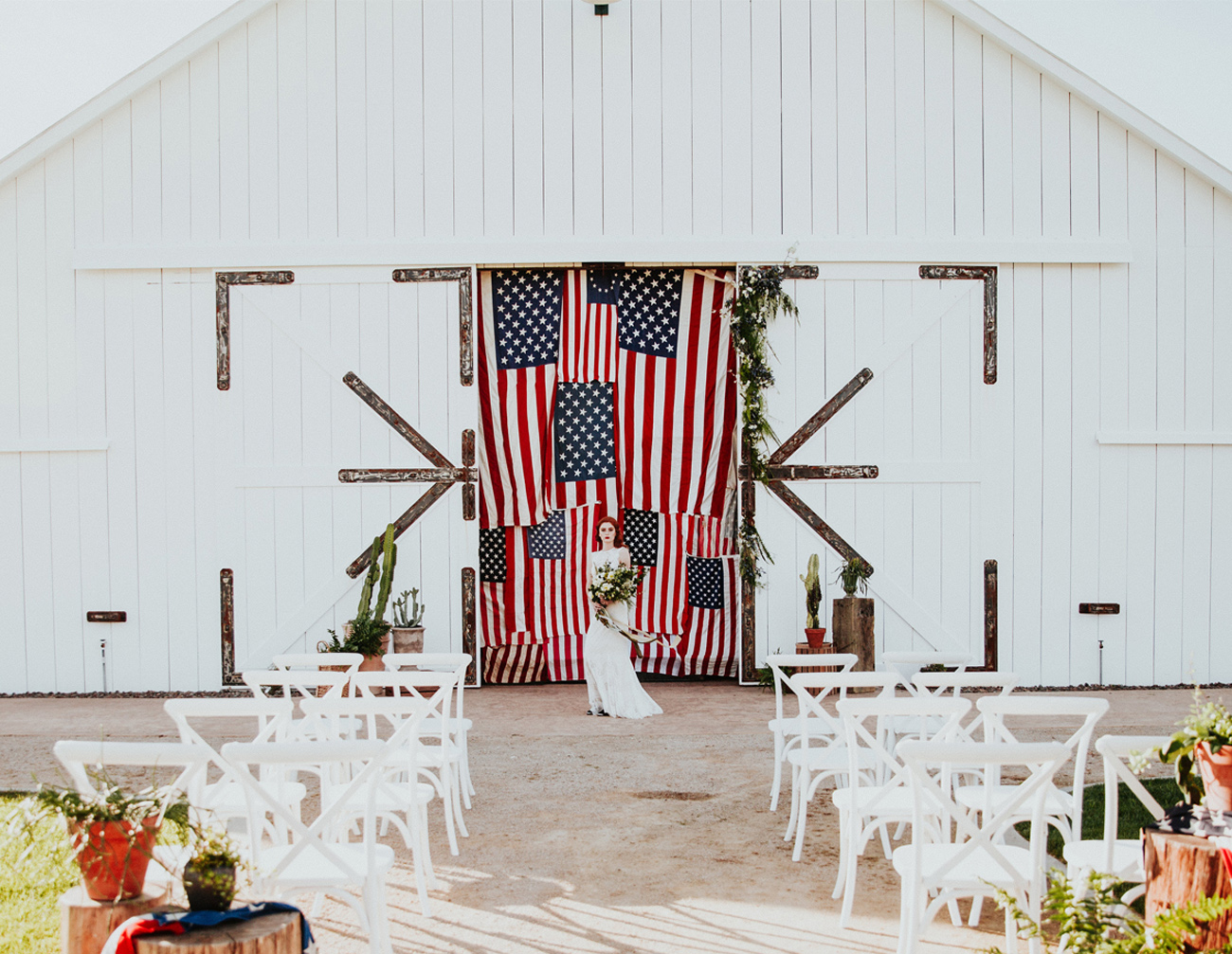 fourth july wedding