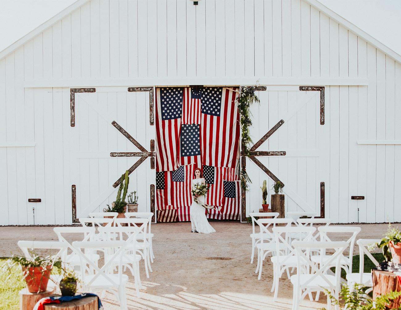 fourth july wedding