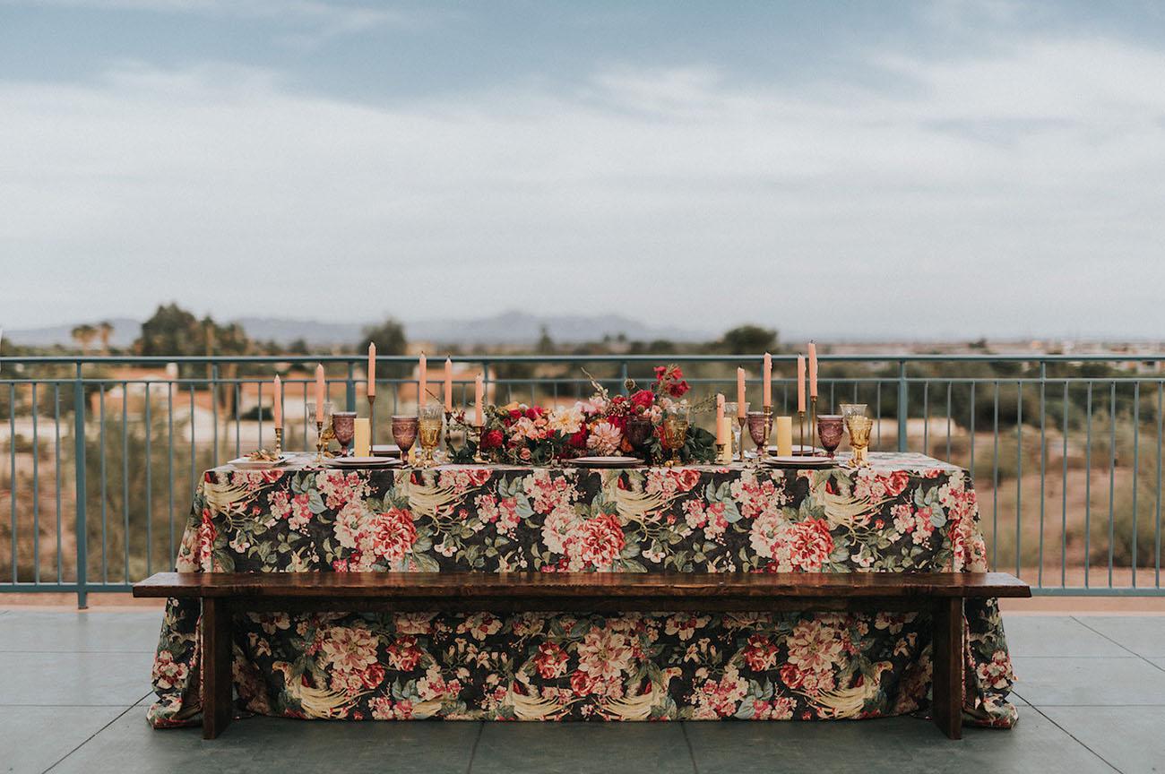 floral linens