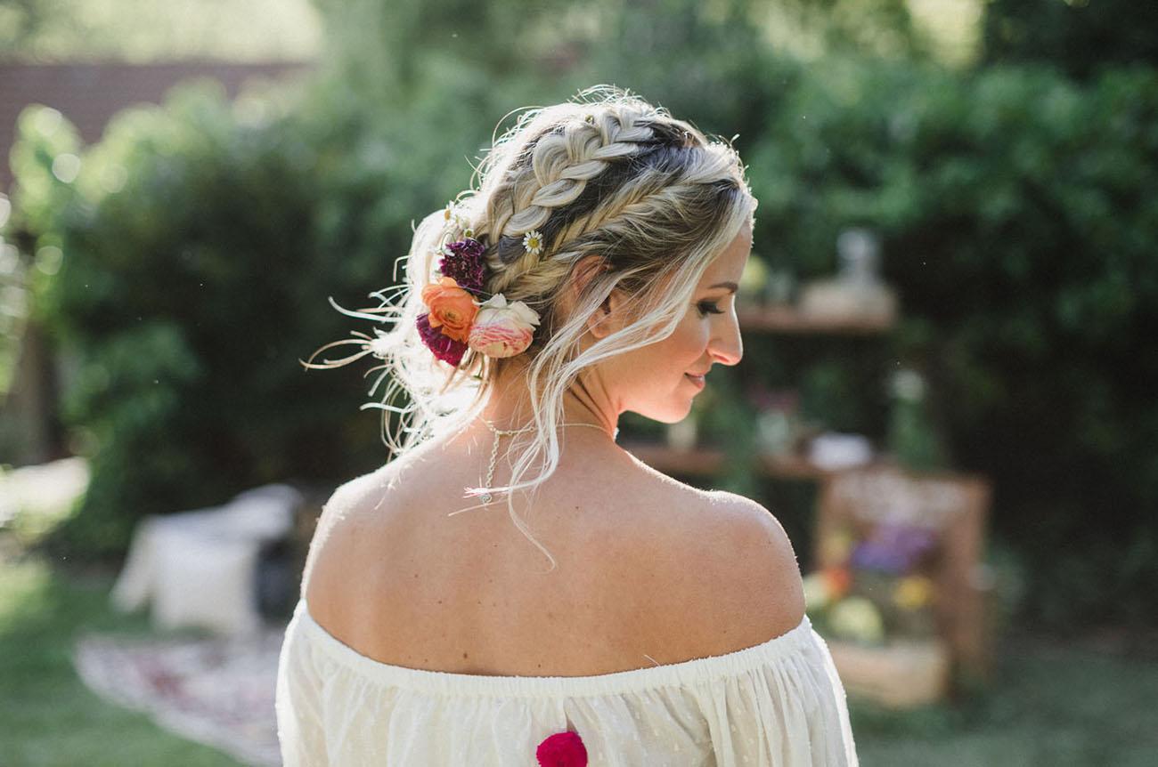 floral braids