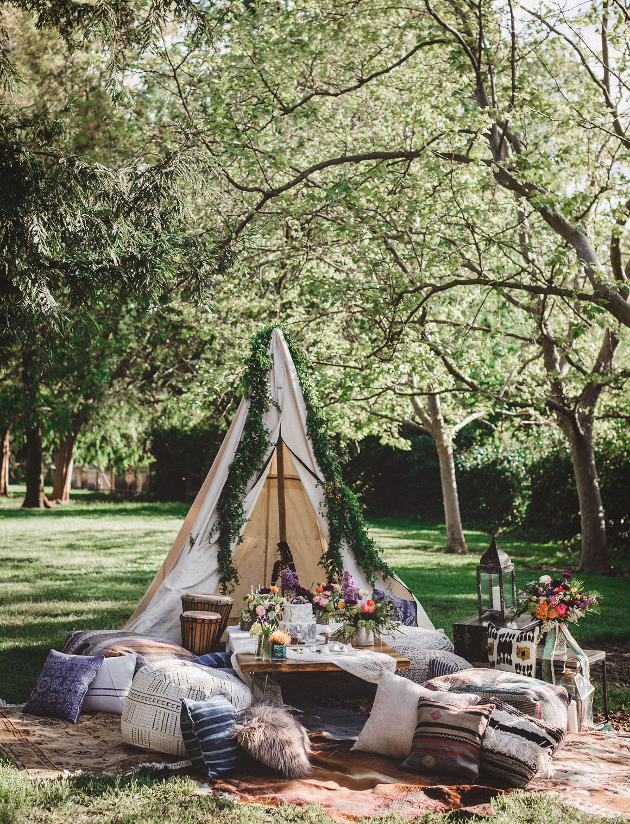 Garden Festival Bridal Shower Inspiration