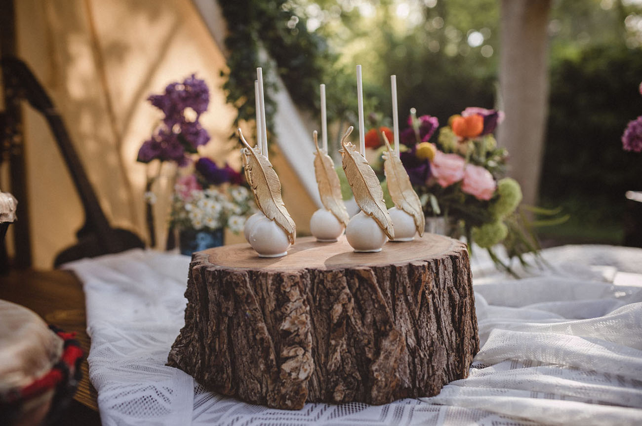 cd5d22b1c4c0 For the Bride-To-Be  A Woodsy Festival-Inspired Bridal Shower ...