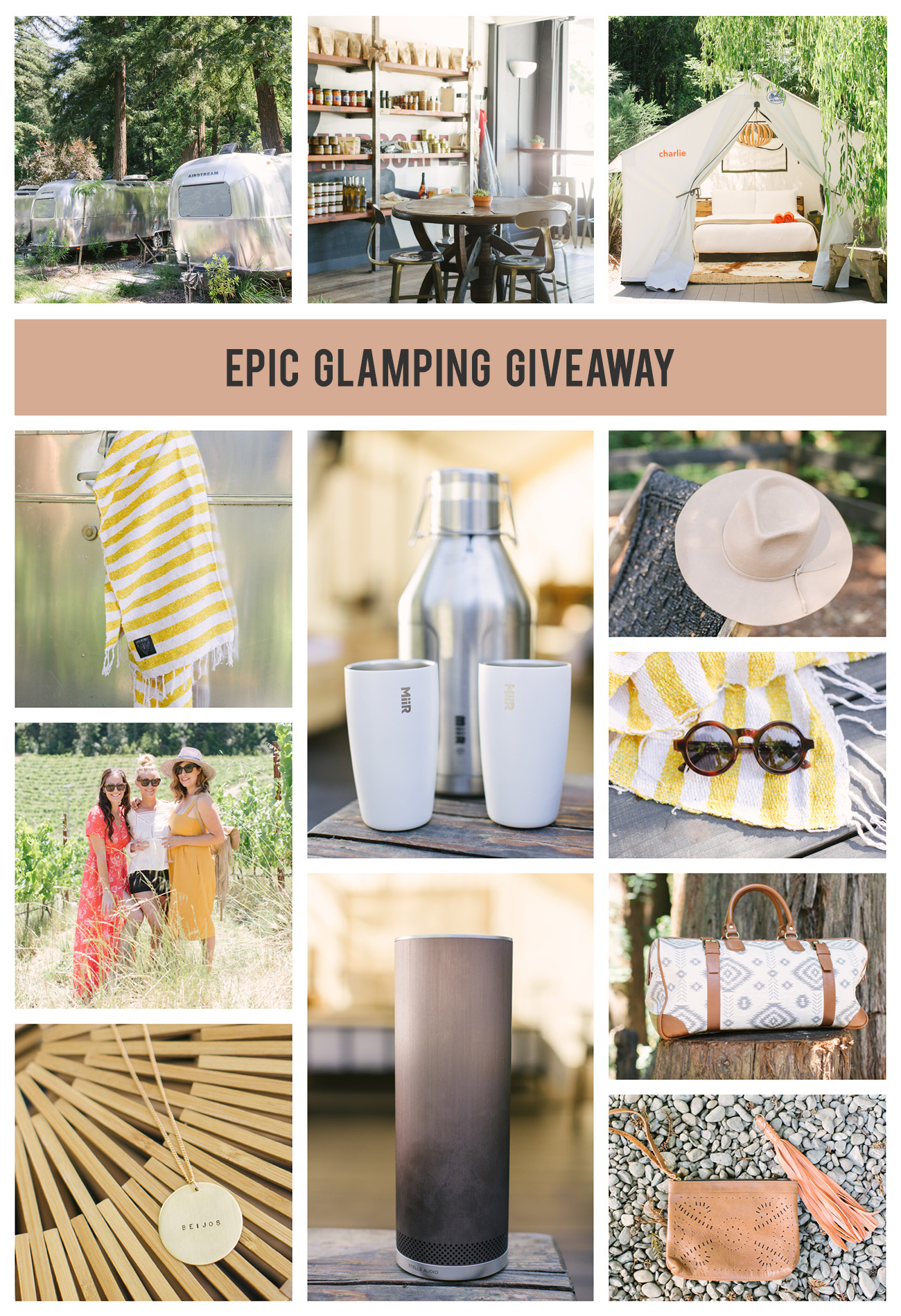 glamping giveaway