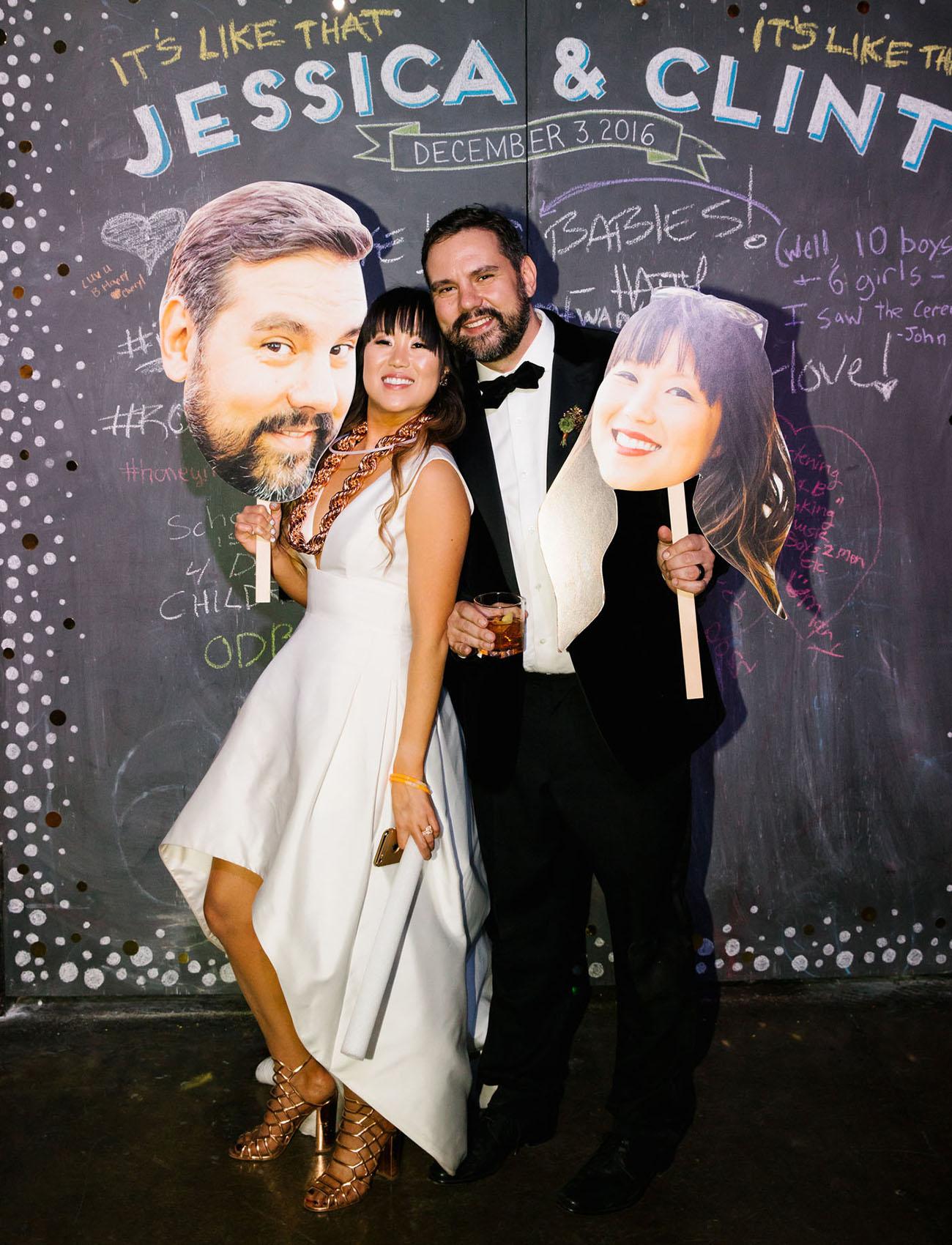Urban LA Wedding