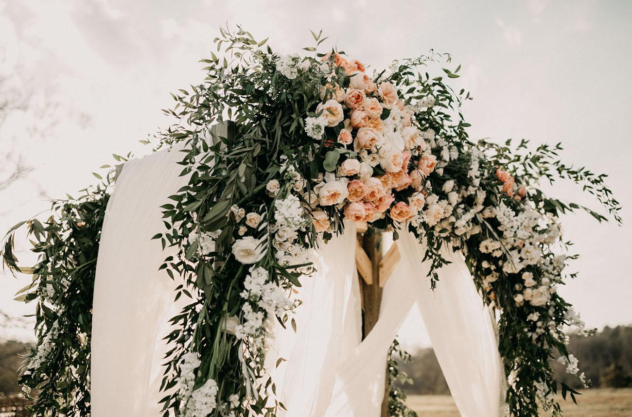 rose ceremony arbor