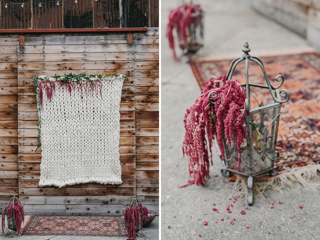 handmade crochet backdrop