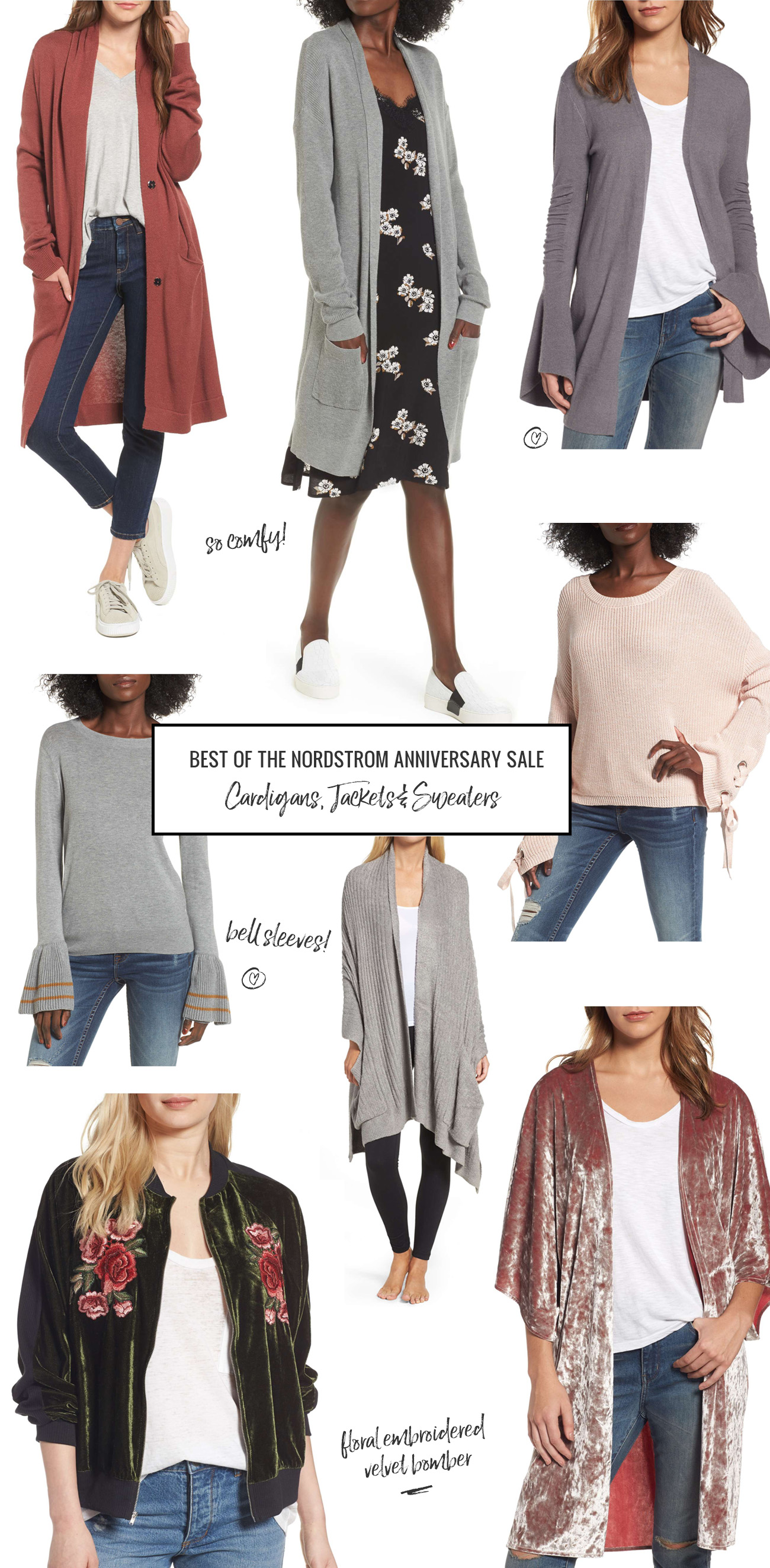 nordstrom sale jackets and cardigans