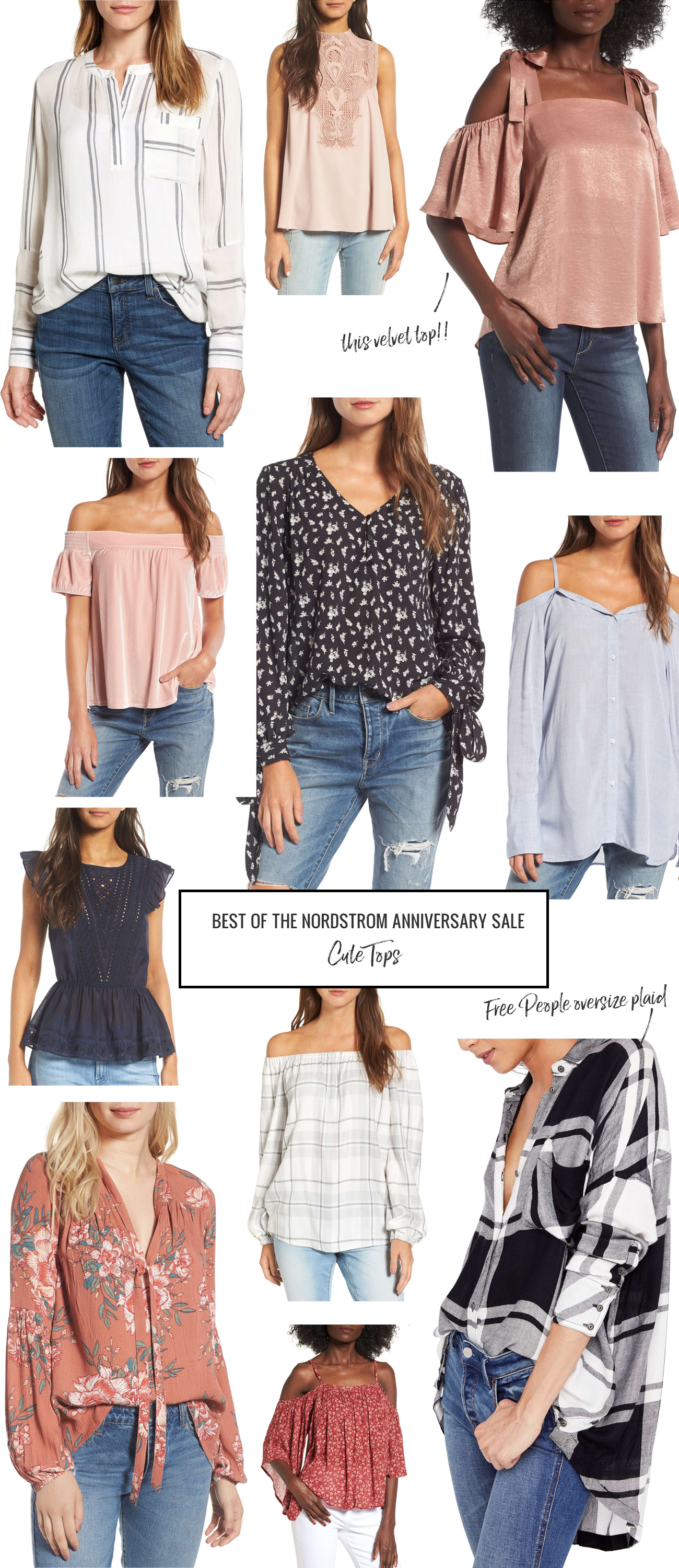 nordstrom sale cute tops