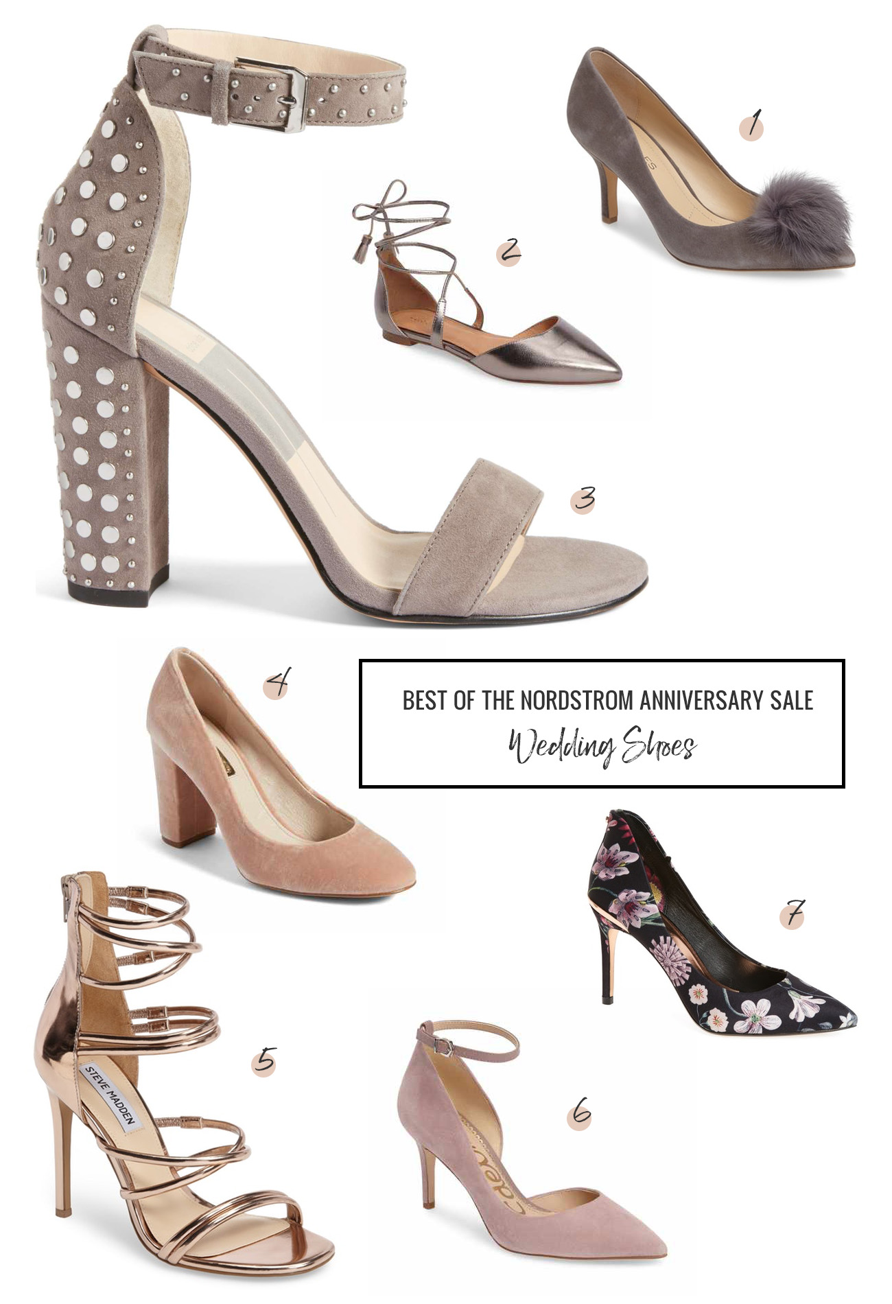 485bac67f73 Nordstrom Anniversary Sale - Our Shoe Picks! - Green Wedding Shoes