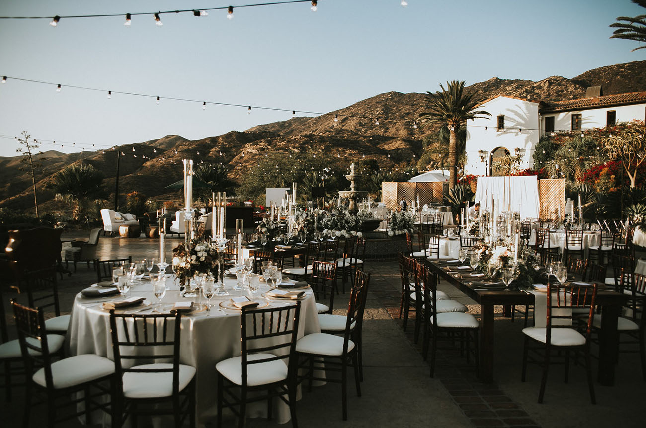Outdoor Glamour Wedding