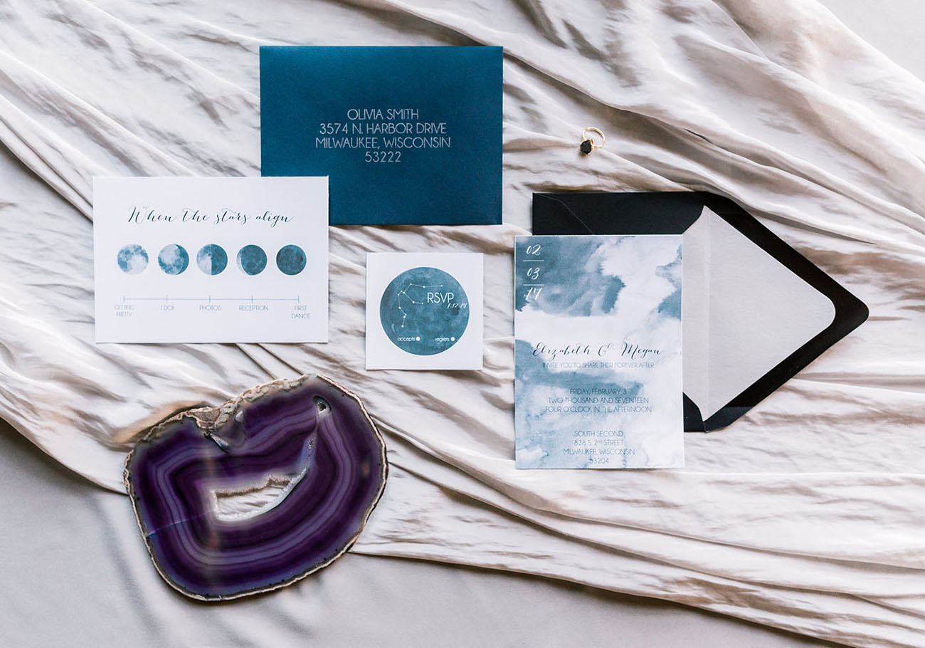lunar invitations