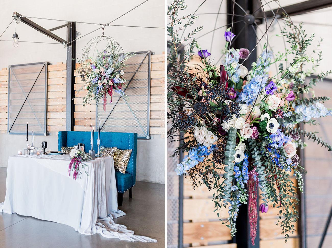 Posh Edgy Wedding Inspiration
