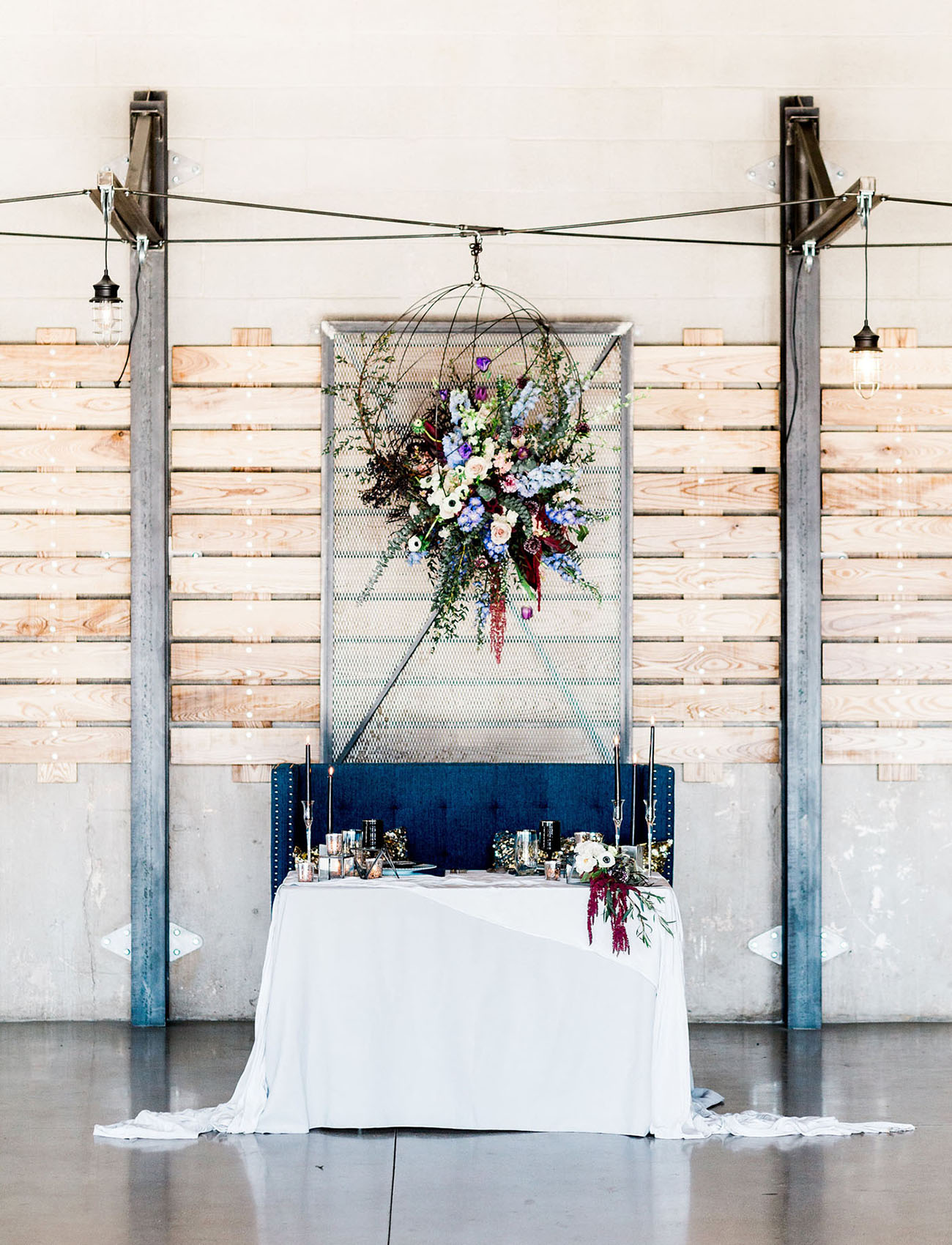 Posh Edgy Wedding Inspiration