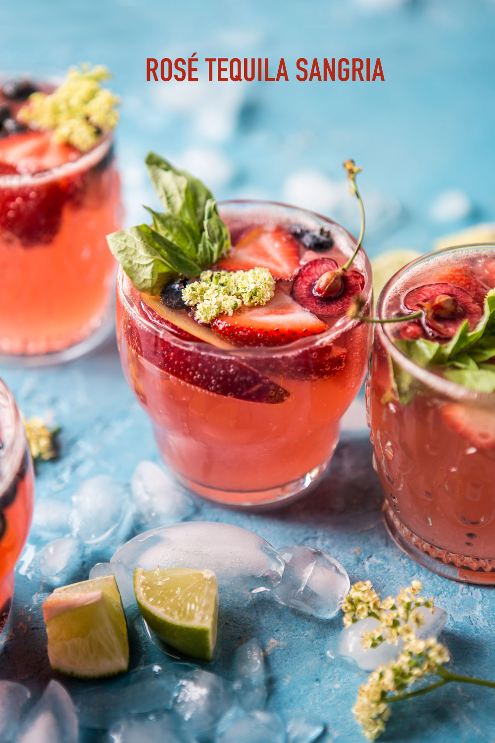 rose tequila sangria recipe