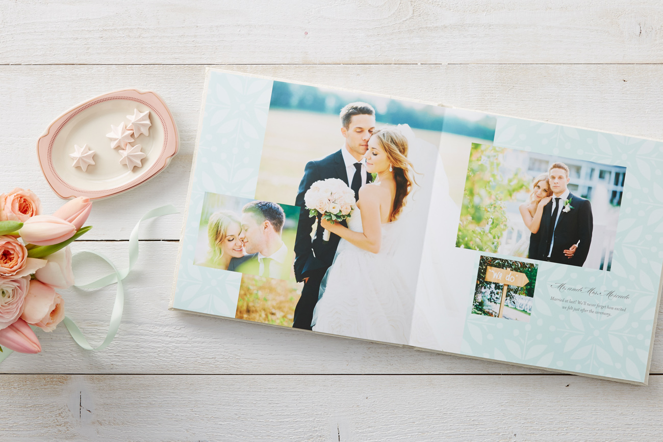 after the ceremony  wedding photo books with shutterfly