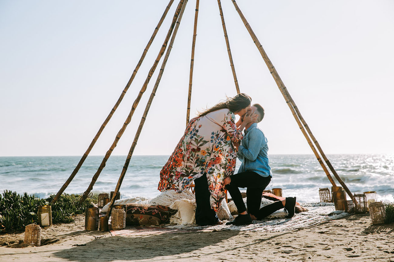 Proposal at Sunset Cliffs