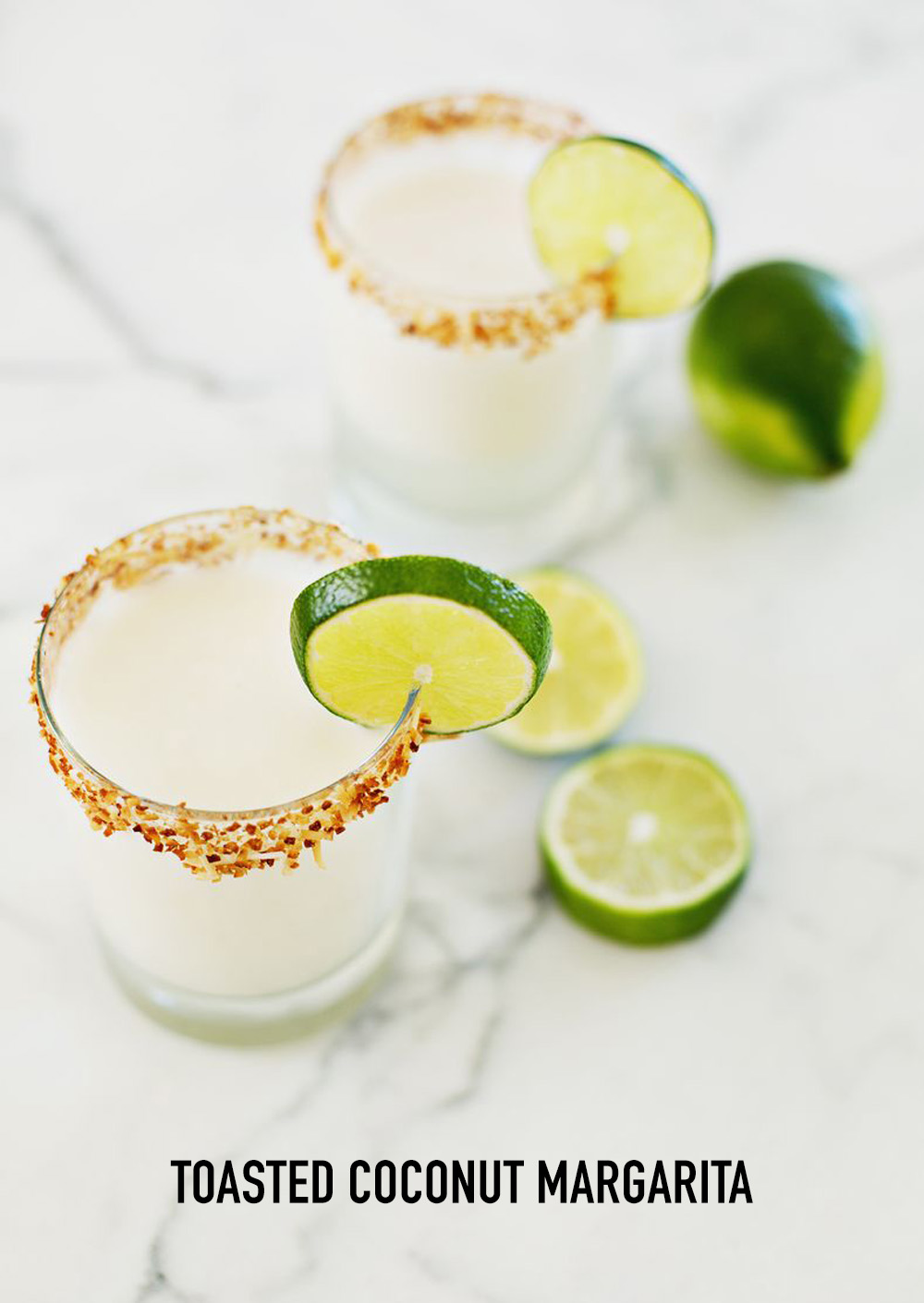 toasted coconut margarita recipe