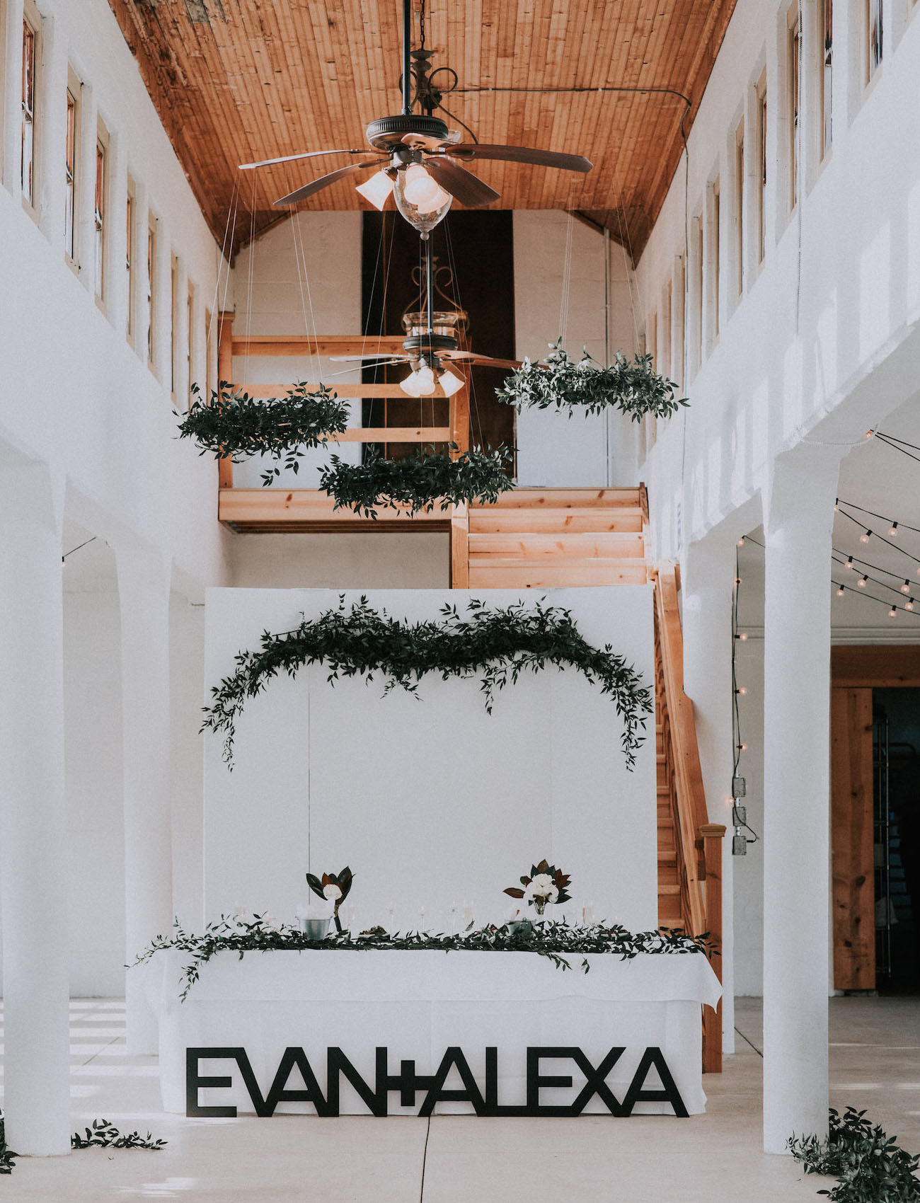 giant wedding letters
