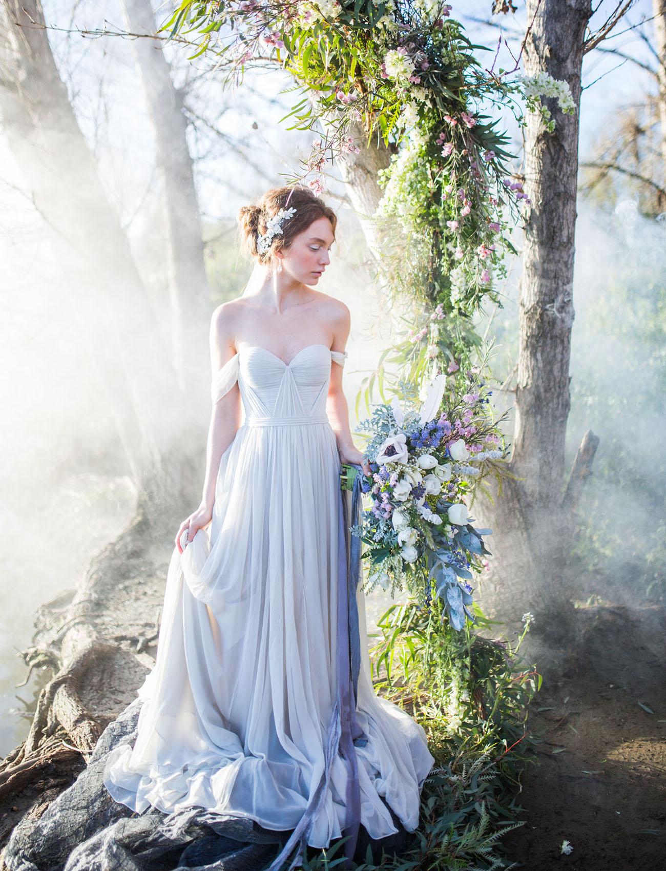 Blue Heron Wedding Inspiration