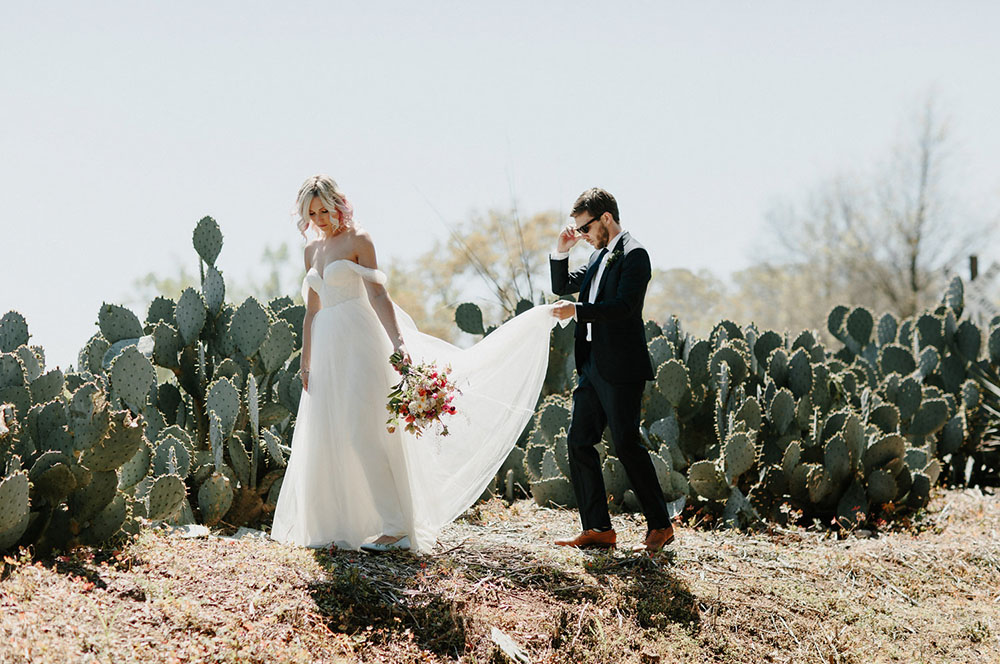 Colorful Georgia Wedding