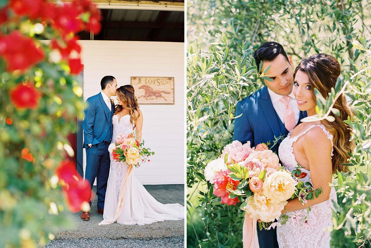 Festival Style Wedding in a Southampton Organic Farm