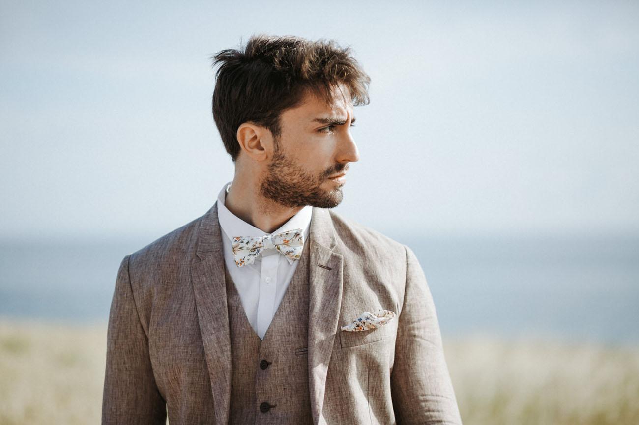tweed groom suit